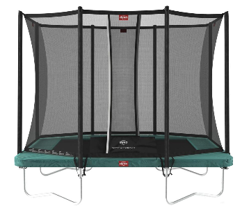 Berg Ultim Favorit Trampoline - Regular Small Garden Trampoline (9,2 x 6,2ft)