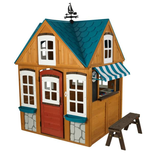 Seaside Cottage Outdoor Wooden Playhouse