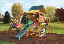 Load image into Gallery viewer, Brookridge Climbing Frame Outdoor Wooden Play Center