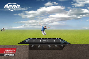Berg Flatground Ultim Elite | Rectangular Trampolines