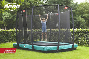 Berg Inground Ultim Champion Rectangular Trampolines
