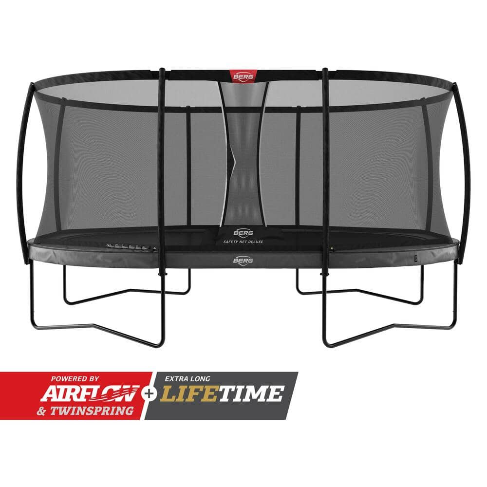 Berg Grand Elite Oval Trampoline - Regular