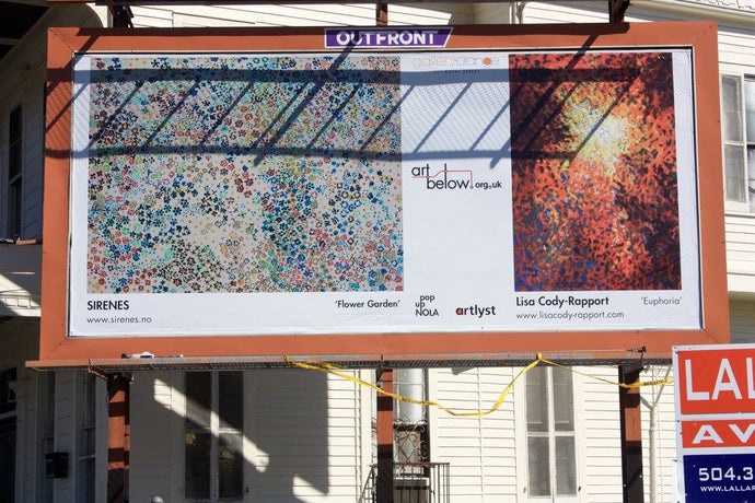 Exhibition: Giant Billboards in New Orleans, USA