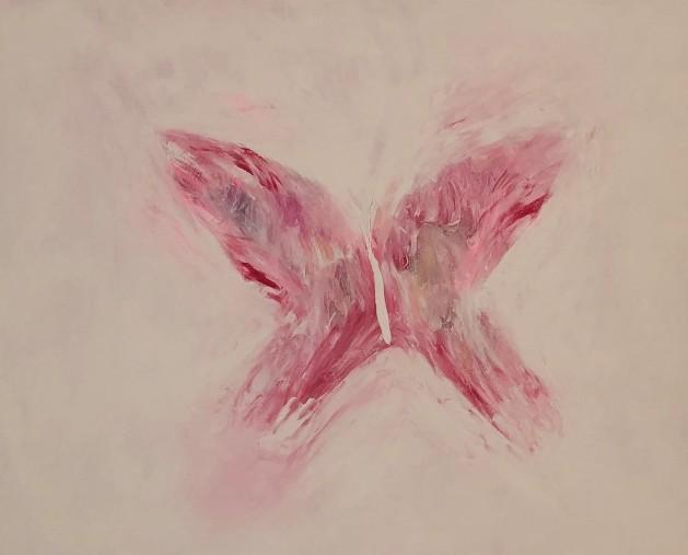 NEW - PINK BUTTERFLY