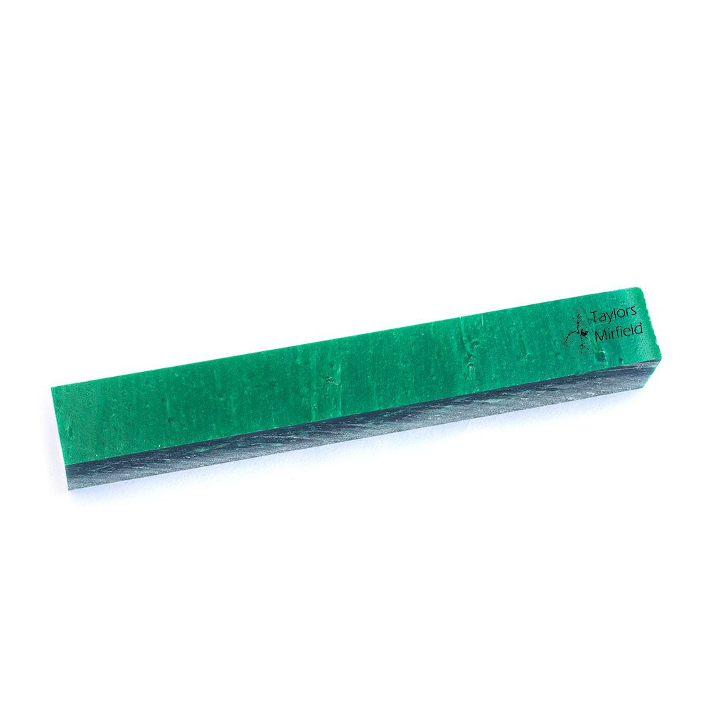 Green Ice Kirinite Pen Blank Ice Series