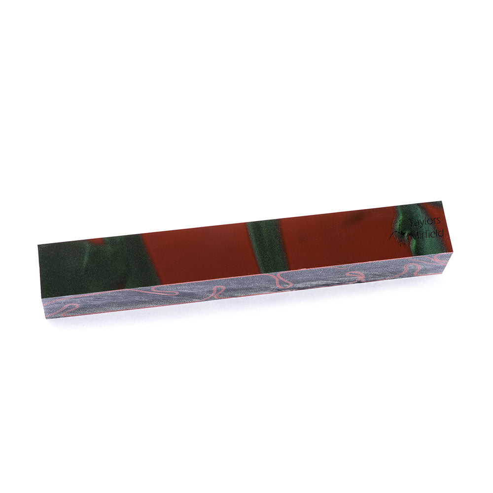 Jungle Camo Kirinite Pen Blank M Series