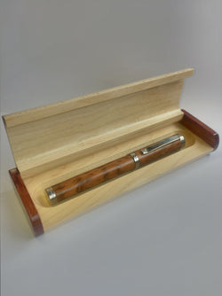 Wooden Pen Box, Two Tone Single