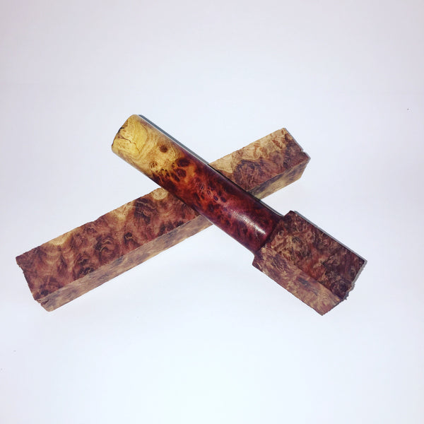 Red Mallee Burl Pen Blank