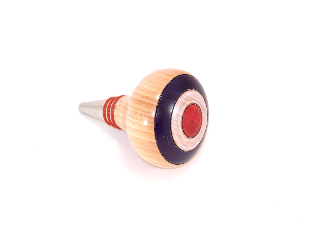 British Stainless Bottle Stopper | Woodturning project kit
