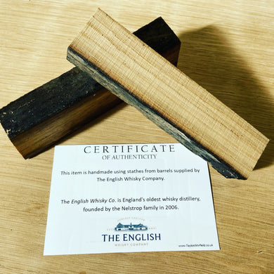 English Whisky Company Barrel Blank | Pen Blanks