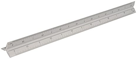 Rulers | Aluminium Tri Rule | Steel Rule