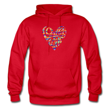 Load image into Gallery viewer, LOVE WINS EMBLEM HOODIE - Unisex/Men's - red