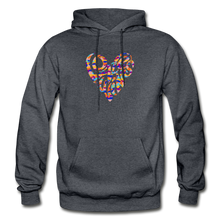 Load image into Gallery viewer, LOVE WINS EMBLEM HOODIE - Unisex/Men's - charcoal gray