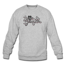 Load image into Gallery viewer, LOVE is Gangster - Men's - heather gray