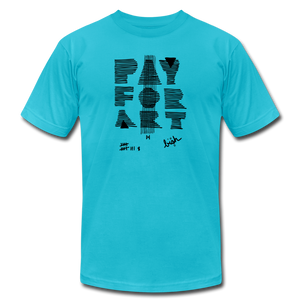 Pay For Art - Grey/Blk - turquoise