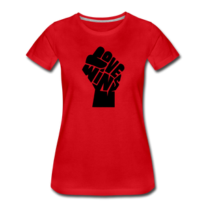 Love Wins - Power (Women's) - red