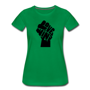 Love Wins - Power (Women's) - kelly green