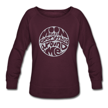 Load image into Gallery viewer, Moon Rules Everything - Women's Crewneck - plum