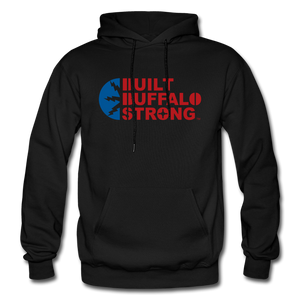 Built Buffalo Strong Hoodie - black