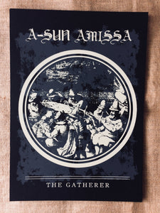 Gizeh Records Online Store | A-Sun Amissa - The Gatherer Limited Edition Print