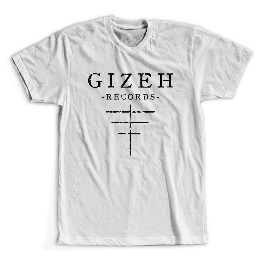 GIZEH RECORDS - Logo T-Shirt (White)