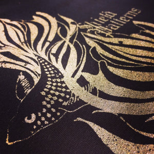 SHIELD PATTERNS - Pelagic T-Shirt (Gold/Black)