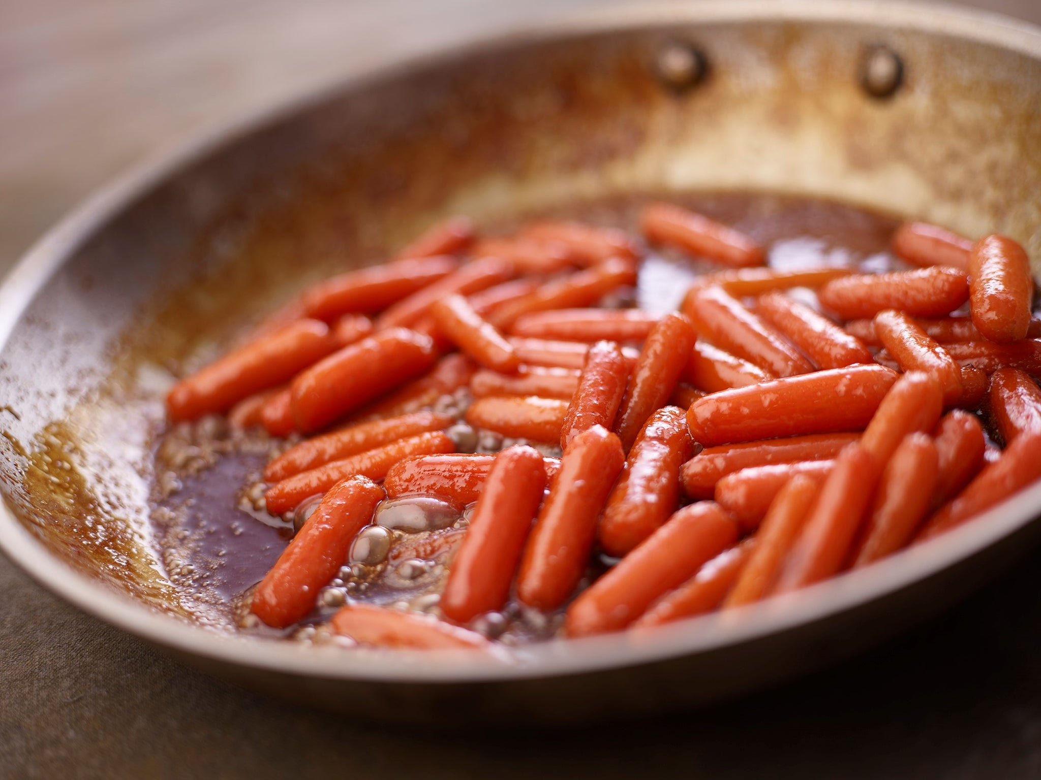 Honey Maple Glazed Baby Carrots