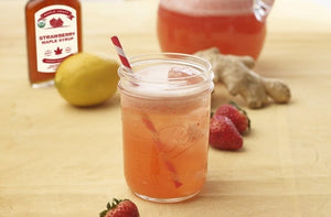 BERRY MAPLE LEMONADE (No Sugar Added)