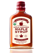 Load image into Gallery viewer, Apple Cinnamon Maple Craft Syrup (Organic)