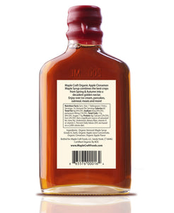 Apple Cinnamon Maple Craft Syrup (Organic)