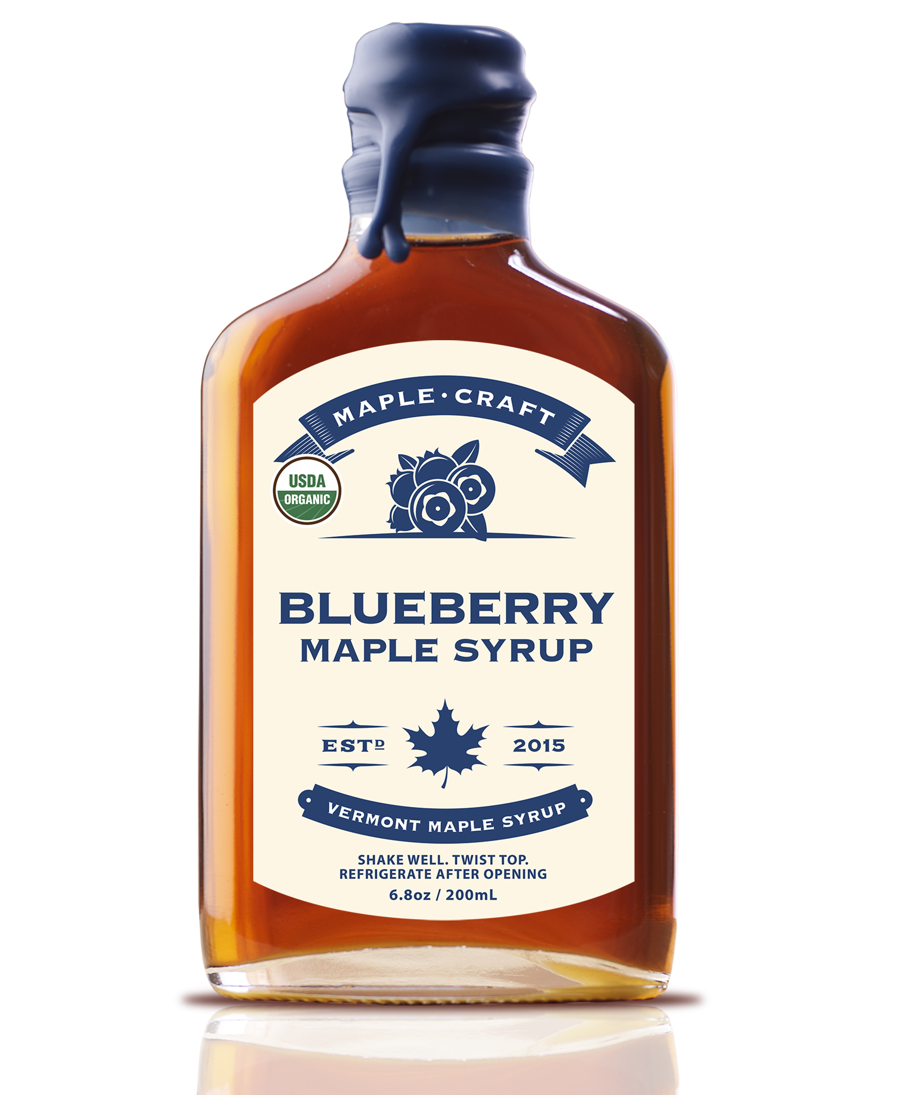 Blueberry Maple Craft Syrup (Organic)