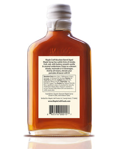 Bourbon Barrel Aged Maple Craft Syrup