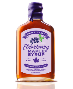 Elderberry Maple Syrup