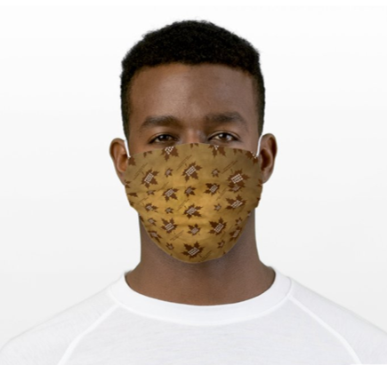 Maple Craft Leaf Face Mask - Autumn Design