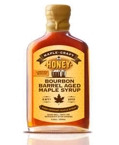 Honey-Infused Bourbon Barrel Aged Maple Craft Syrup