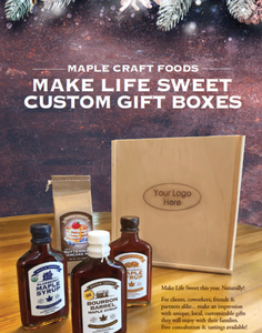 """Make Life Sweet"" Gift Boxes"