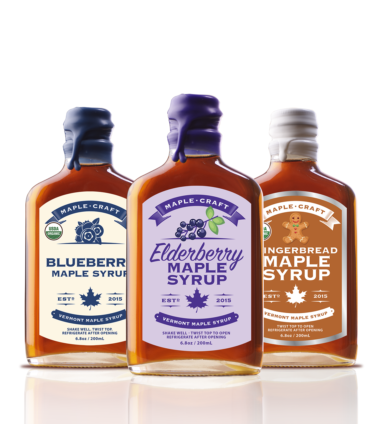 Maple Craft Syrup Sets (Family Size)