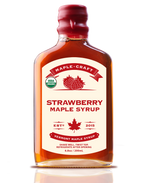 Load image into Gallery viewer, Strawberry Maple Craft Syrup (Organic)