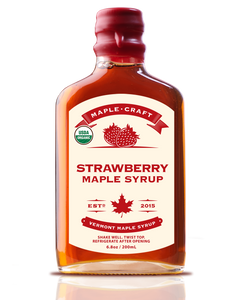Strawberry Maple Craft Syrup (Organic)