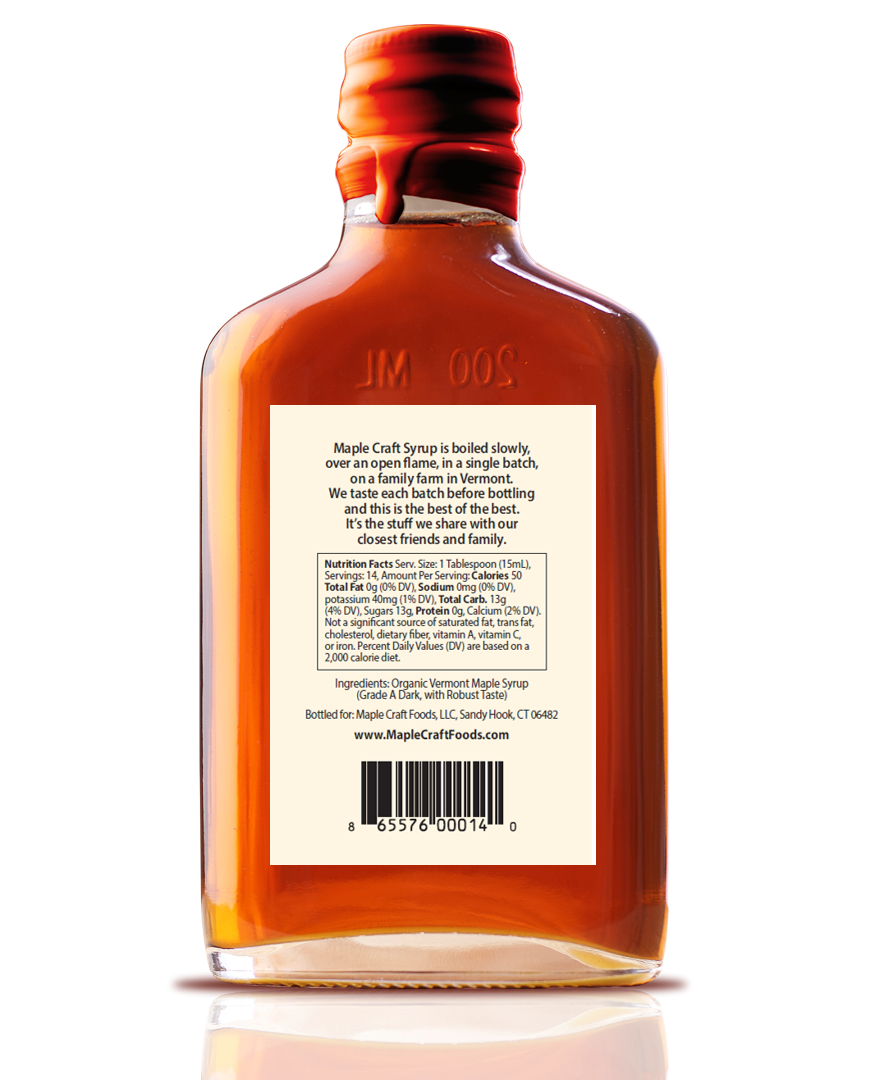 NEW! Pure Vermont Maple Syrup - Farmer's Best