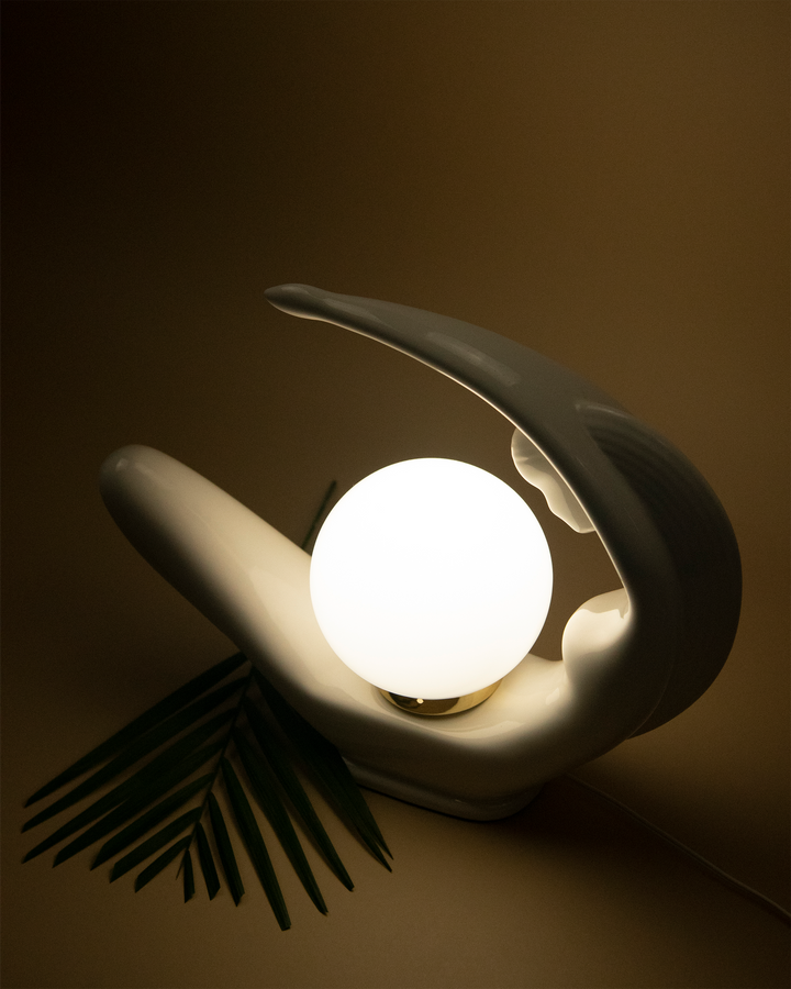 A Woman's Curve Lamp