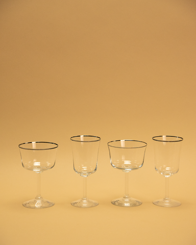 Grier Crystal Glass Set