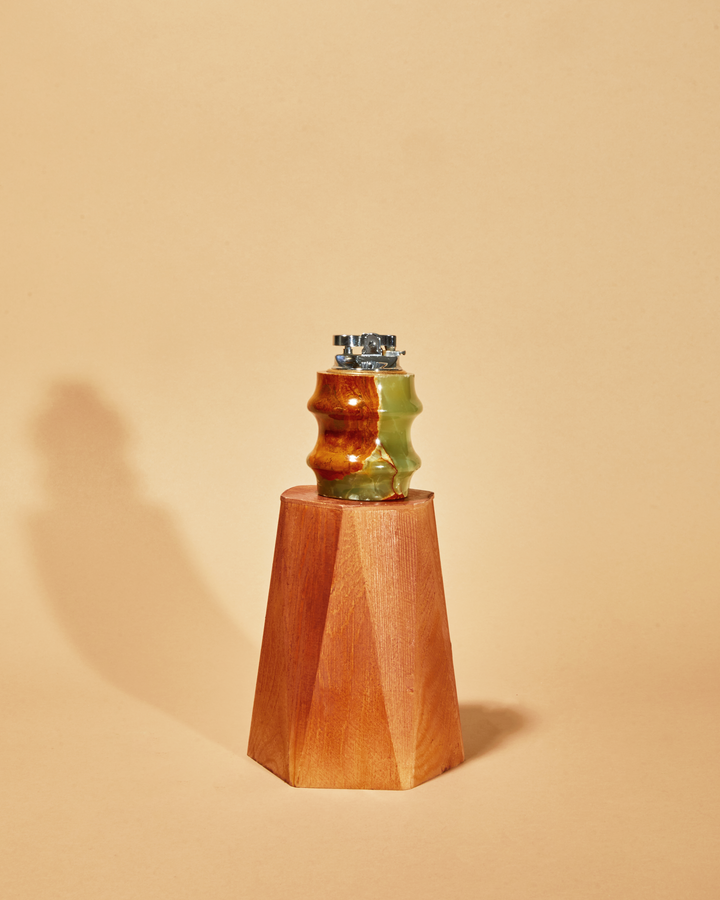 Italian Onyx Desk Lighter