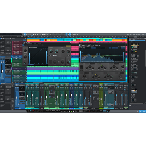Music Software DAWs NLEs Digital Audio Workstation Non-Linear Editor Plug-In