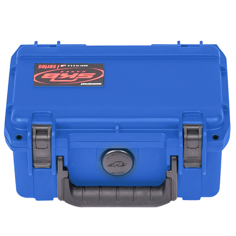SKB 3i-0705-3A-C iSeries Utility Case (Blue - Cubed Foam) - Waterproof Injection Molded