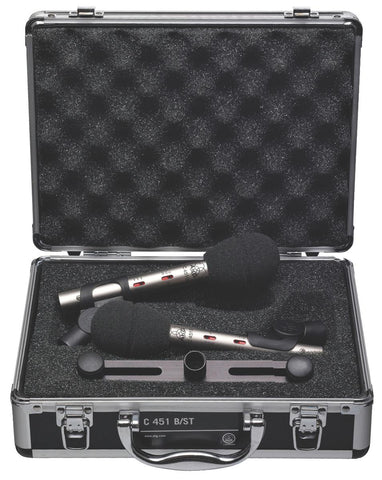 AKG C451 B Matched Pair Condenser Microphone