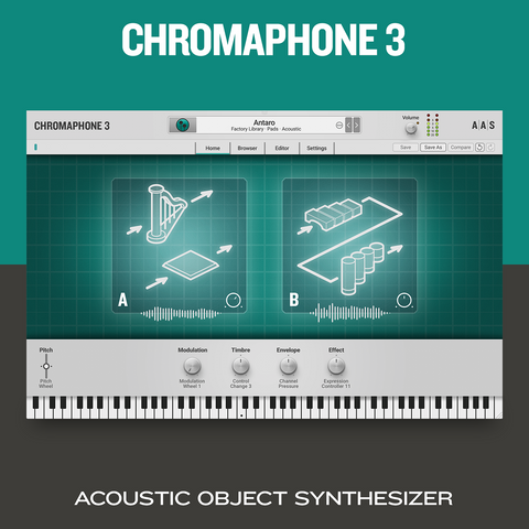 Applied Acoustics Systems Chromaphone 3 Synthesizer