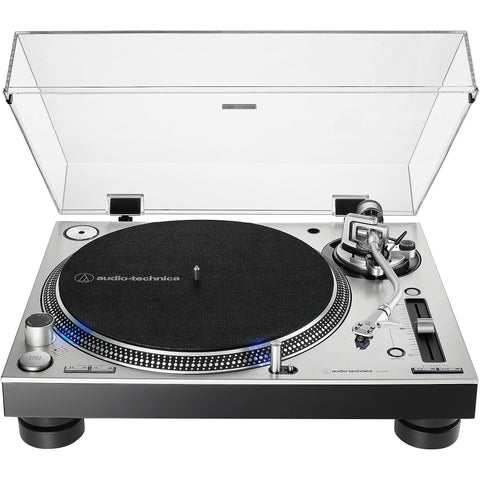 Audio-Technica AT-LP140XP-SV Professional DJ Turntable (Direct-Drive)