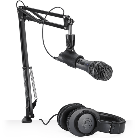Audio-Technica AT2005USBPK Headphone Microphone Podcaster Pack