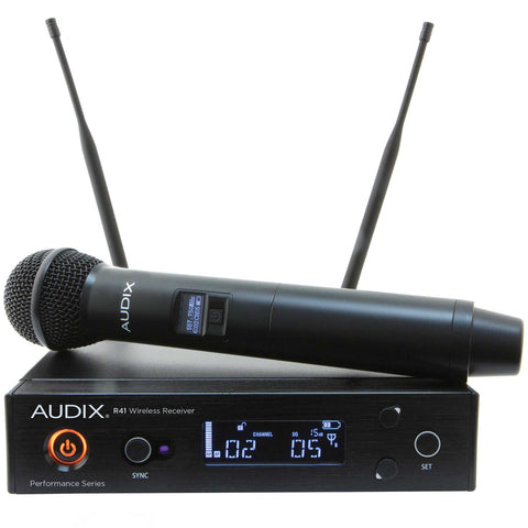 Audix AP41 OM2 Wireless Microphone System (Receiver - Transmitter)
